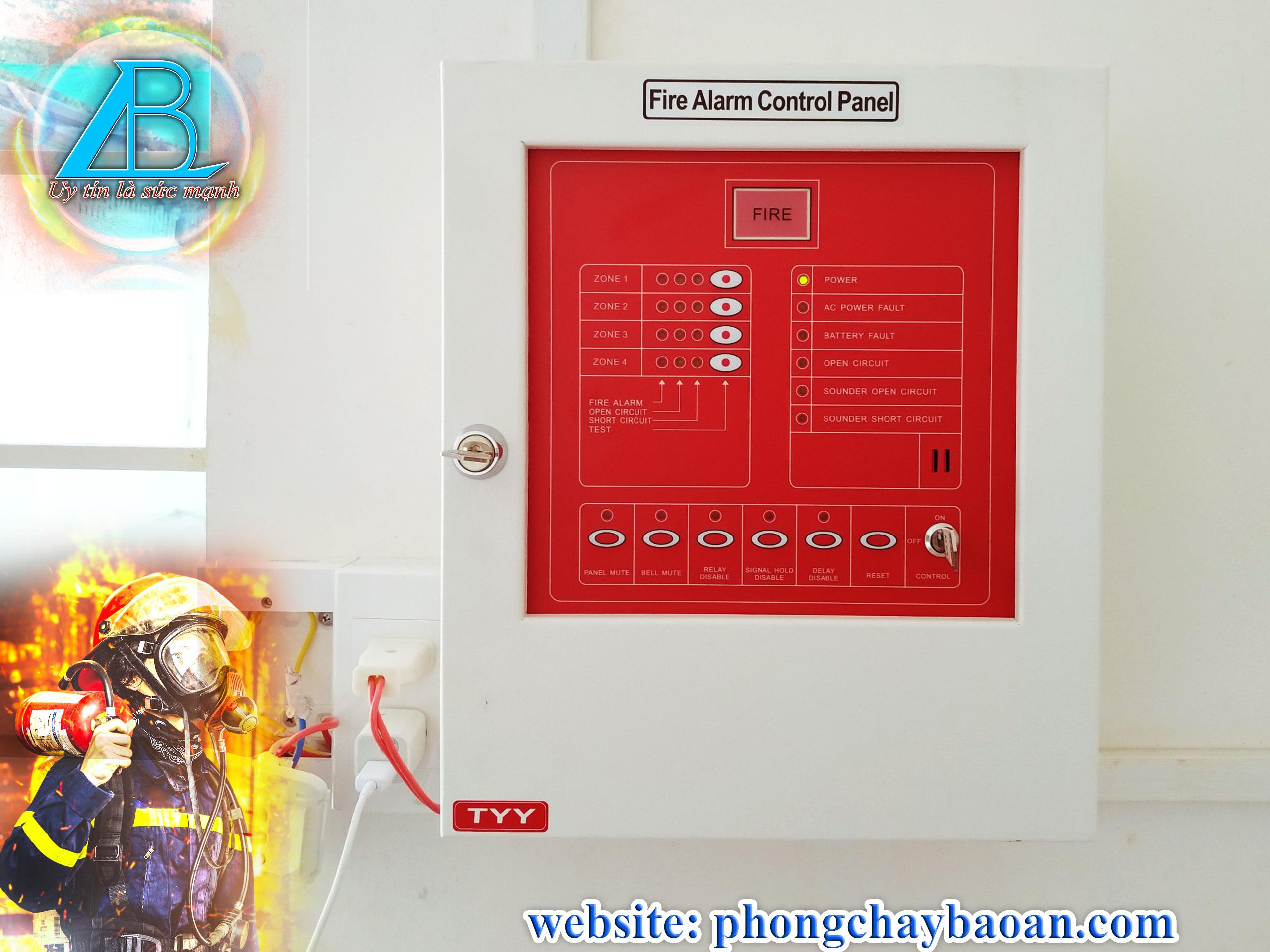 trung tâm báo cháy YunYang YF3