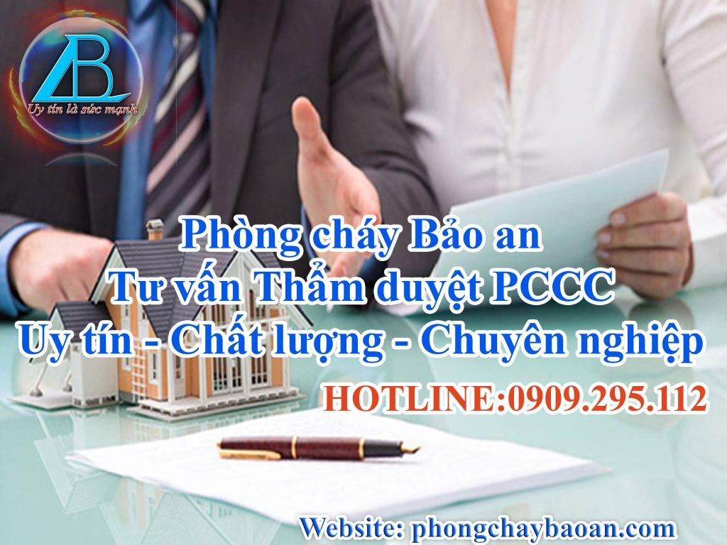 Tư vấn thẩm duyệt PCCC