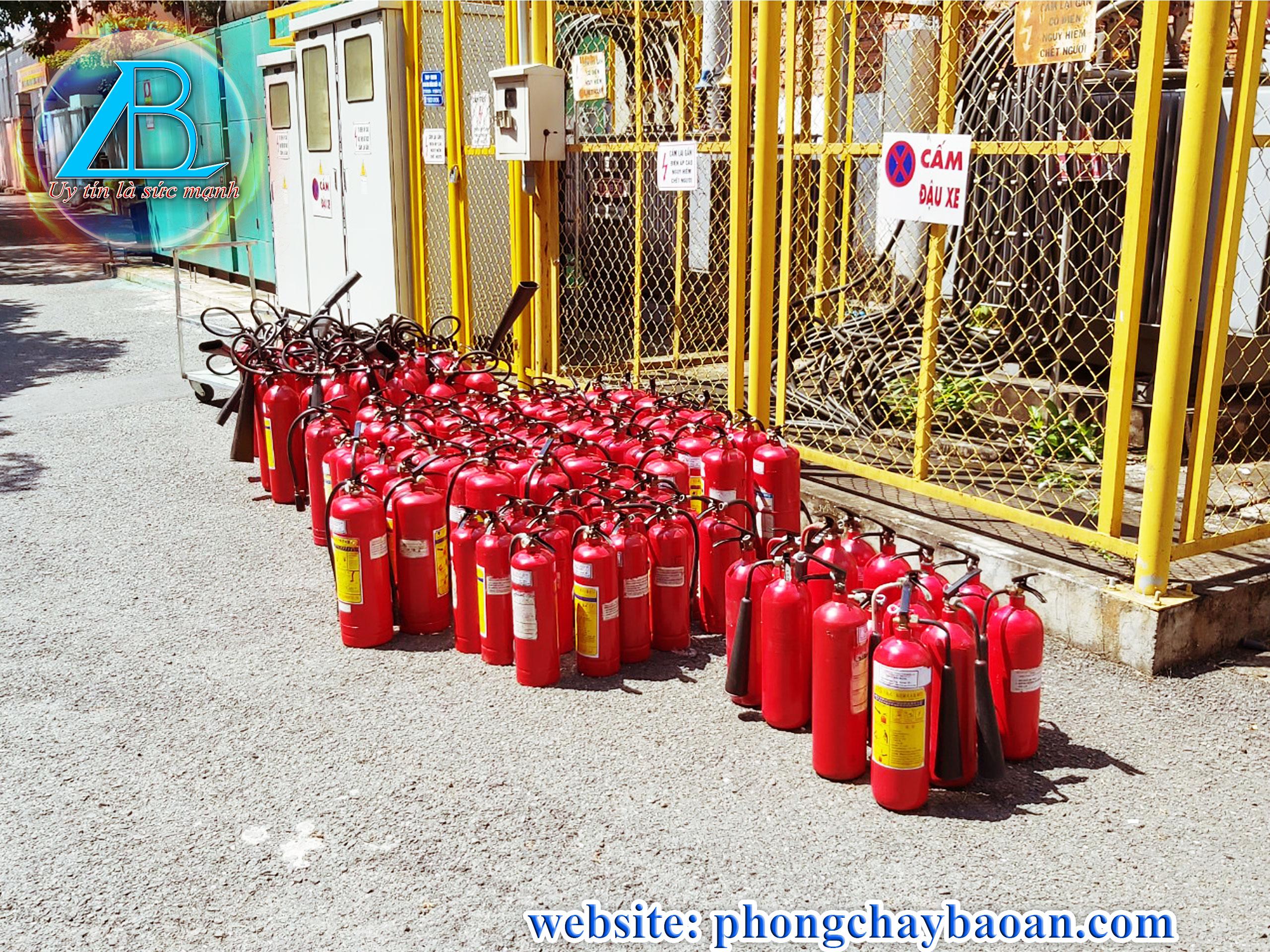 Điểm bán bình chữa cháy giá rẻ